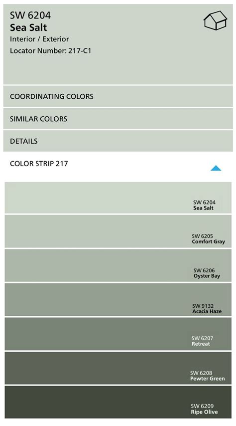 Interior Paint Colors Sherwin Williams by Sherwin Williams Sea Salt Color Spotlight A Paint