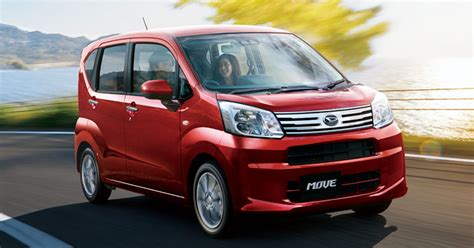 Daihatsu Move kei car receives an update in Japan