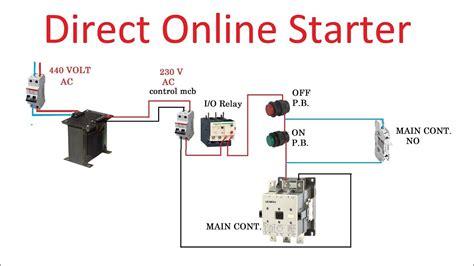 direct   dol motor starter electrical mastar