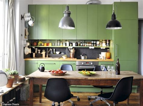 idee deco peinture cuisine deco cuisine peinture verte