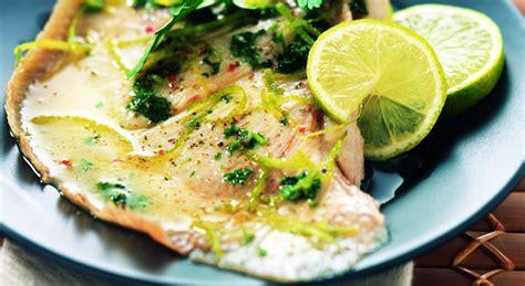 cuisiner com aile de raie au citron vert découvrez la recette