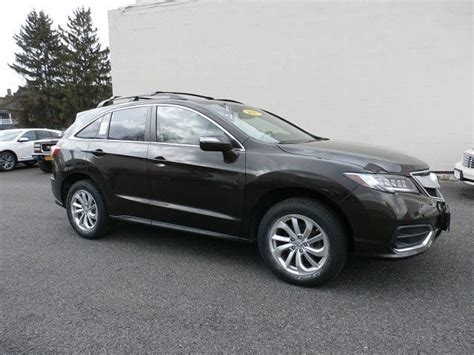 Acura Rdx Mileage by Featured Crest Acura