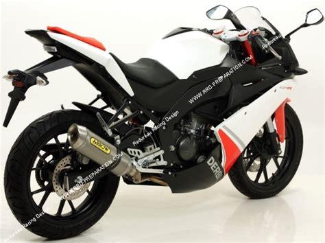pot d 233 chappement arrow racing thuder pour moto derbi gpr 125cc 4t a partir de 2010 www