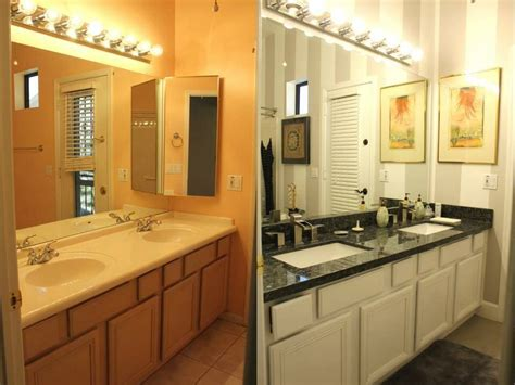 Modern Bathroom Remodels by Bathroom Remodels Before And After Pochiwinebarde
