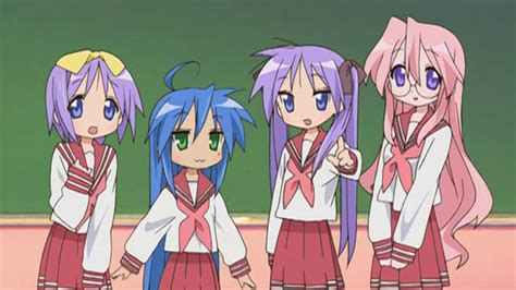 anime genre comedy school slice of life guest review lucky star sub ani gamers