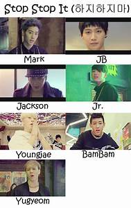 GOT7 Stop Stop It Who's Who   Got7, Stop it and Member