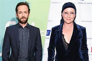 Luke Perry Talks About Shannen Doherty at 90210 Reunion ...