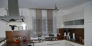 Küche Vorhänge Modern : dezenter stufen schiebevorhang f r die k che gardinen deko ~ Watch28wear.com Haus und Dekorationen
