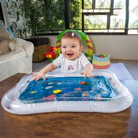 baby inflatable aquarium water mat toy  colorful