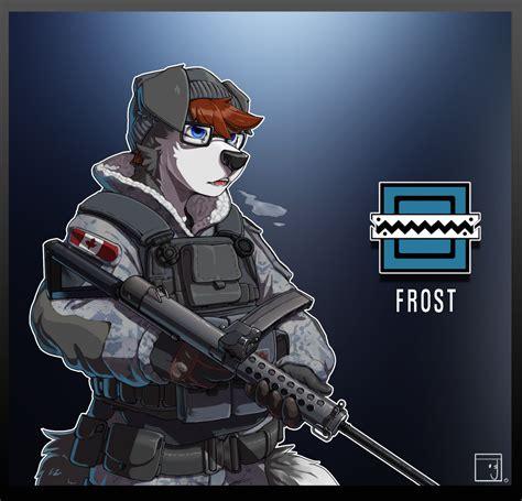 Rainbow Six Frosty Pup By Jaxxyfur Fur Affinity Dot Net