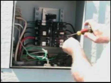 Installing Hot Tub Gfi Breaker Youtube