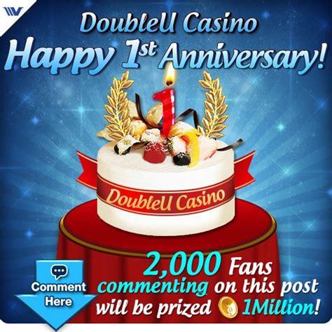 doubleu casino  slots  st anniversary
