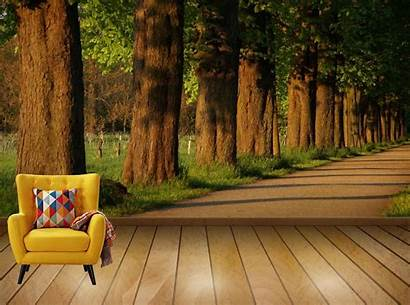 Avikalp Avenue Nature Chestnut Lined Walk Exclusive