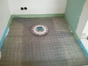 Betonboden Selber Machen : gro e duschwanne selber machen estrich ablauf ~ Michelbontemps.com Haus und Dekorationen