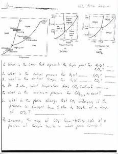 Worksheet  Phase Diagrams Worksheet For 10th