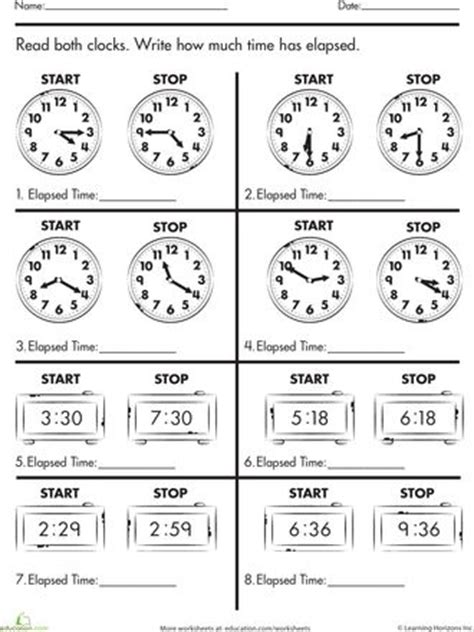 25+ Best Ideas About Elapsed Time On Pinterest  Math Fractions, Teaching Multiplication Facts