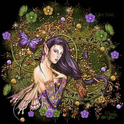 Fairies Fairy Butterflies Butterfly Fantasy Animated Purple