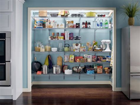 efficient kitchen storage pictures of kitchen pantry options and ideas for efficient storage hgtv