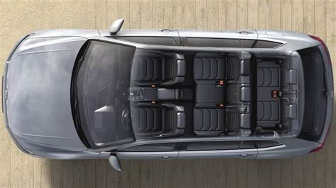 Volkswagen Tiguan Allspace 2018 dimensions, boot space and ...