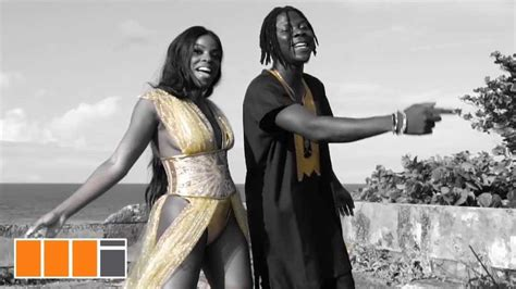 stonebwoy feat khalia hold  yuh  video bellanaija