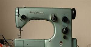 Spinning A Yarn  Husqvarna Automatic    Viking 21a Sewing