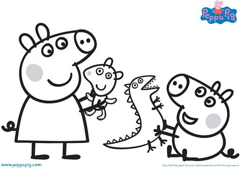 peppa Pig Coloring Pages BubaKids com