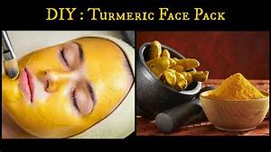 Diy  Turmeric Face Pack For Oily Acne Prone Skin And Skin Brightening