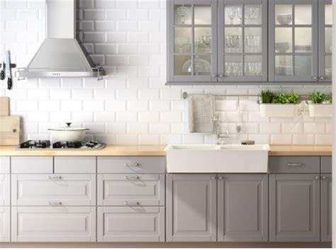ikea gray kitchen cabinets grey ikea kitchen kitchen dining room pinterest