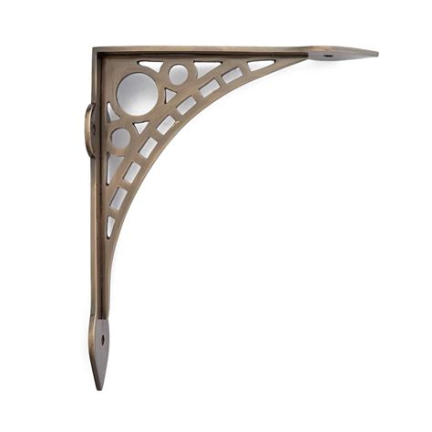 brass shelf brackets lyrical brass shelf bracket hardware