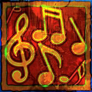 Abstract Music Notes Art | Wallpapers Gallery