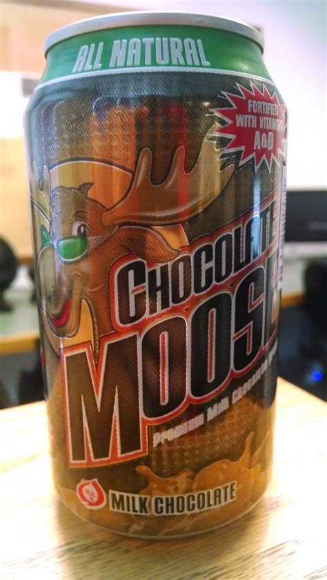 thirsty dudes north american beverage chocolate moose milk chocolate