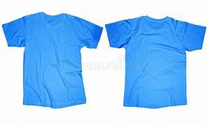 Light Blue T Shirt Template Stock Photo Image 44301501
