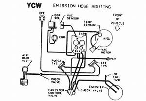 Solved  Need Vacuum Diagram For 1987 El Camino