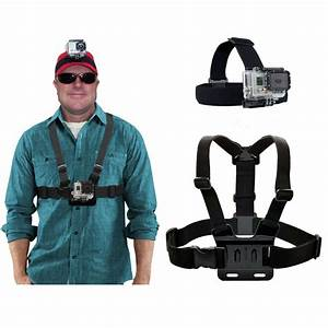 Adjustable Chest Harness  Head Strap Mount For Gopro Hero5