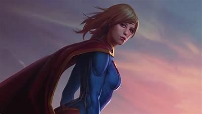 Supergirl Desktop Wallpapers Background 1080p Wide Artwork