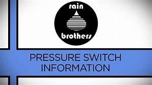 Pump Pressure Switch  Low Level Cut-off Pressure Switches
