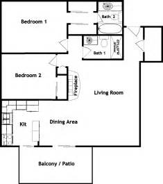 Simple 2bedroom 2bath House Plans Placement by 2 Bedroom 2 Bath Apartment Floor Plans Beautiful Pictures