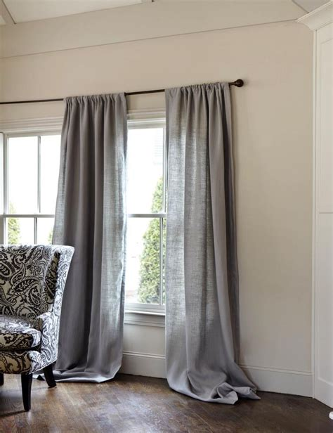 gray linen curtains gray decor traditional curtains