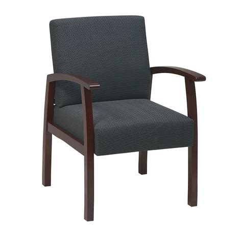 Office Chairs For Guests by Deluxe Cherry Finish Guest Chair By Office In Waiting