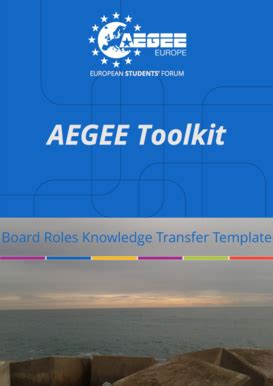 Aegee Templates knowledge transfer template forms fillable printable