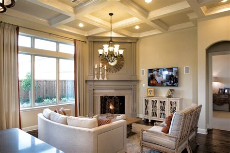 The Living Room Nottingham by West Park Villas Luxury New Homes In Plano Tx