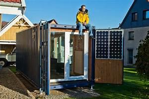 Container Haus Architekt : pocketcontainer wohnen im containerhaus ein autarkes mikrohaus ~ Yasmunasinghe.com Haus und Dekorationen
