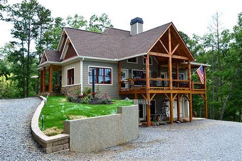 Lake Wedowee Creek Retreat House Plan Craftsman lake