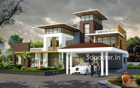 house  interior exterior design rendering home design