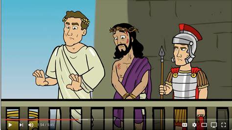 life demonstration church jesus   pilate