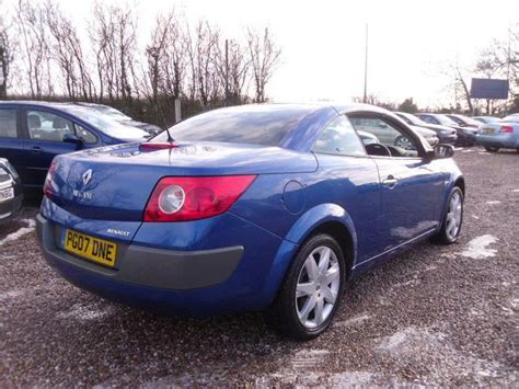 Renault Convertible by Used 2007 Renault Megane Convertible 1 5 Dci Dynamique 2dr