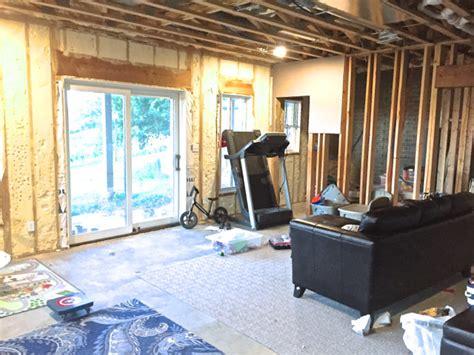 big project shiplap   basement family room