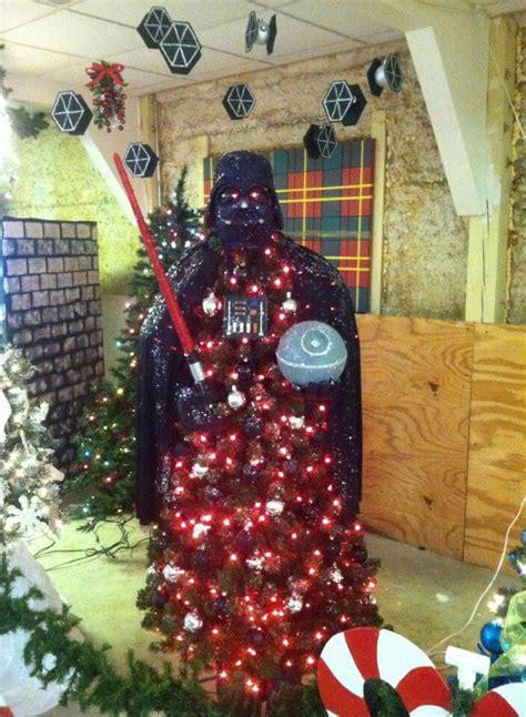 darth vader christmas tree darth vader tree star wars pinterest trees and darth vader