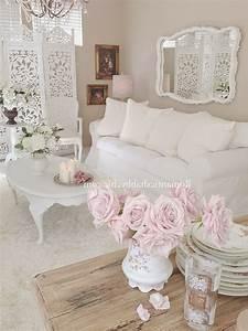 Was Ist Shabby Chic : wonderful 50 shabby chic living room decor cileather home design ideas ~ Orissabook.com Haus und Dekorationen