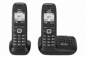 Telephone Sans Fil Vintage : t l phone sans fil gigaset as415a duo noir 4022807 darty ~ Teatrodelosmanantiales.com Idées de Décoration